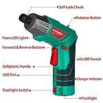 Cacciavite-Elettrico-6Nm-HYCHIKA-Avvitatore-Elettrico-Par-max-6-Nm-36-V-20-Ah-Luce-a-LED-come-Torcia-Chiave-a-Cricchetto-Caricatore-Cavo-USB-36-Accessori-Custodia