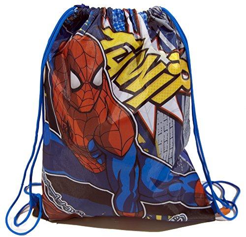 Galleria farah1970 - Sac à dos à sac 40 x 32 cm avec fermeture à strozzo Spiderman monocomparto