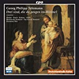 Georg Philipp Telemann: Drei sind, die da zeugen im Himmel
