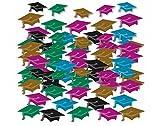 Amscan 99.816-Confeti (mini gorros de graduación)