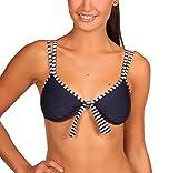 eleMar Damen Bikini Top, Blau (Pazifik/Weiß), 40D, 4-162-06D