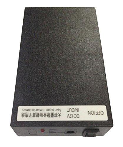 12V DC BATERIA RECARGABLE LI-ION PARA CAMARA CCTV 6800MAH LITHIUM-ION