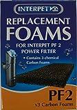 Interpet - Esponjas de carbono de repuesto.