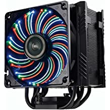 Enermax Vegas ETS-T50-AXE Intel AMD - Ventilador disipador gaming (250W, 12 cm), color negro