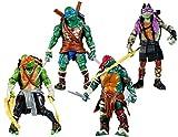 #4: Makibes Teenage Mutant Ninja Turtles Tmnt Action Figures 4 Pcs
