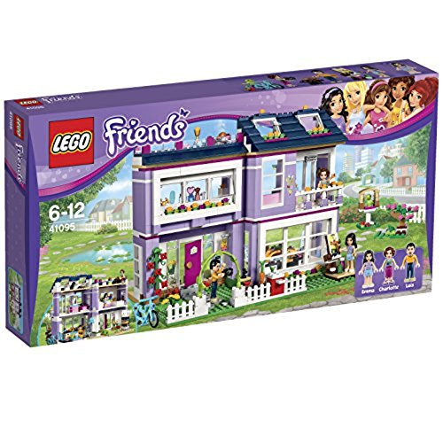 emmas familienhaus lego LEGO Friends 41095 - Emma's Familienhaus