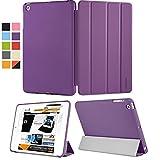 KHOMO iPad Mini 1 / 2 / 3 Smart Cover Dual Case Viola Ultra Sottile e Leggera con Supporto per Apple iPad Mini - iPad Mini Retina 2 - iPad Mini 3