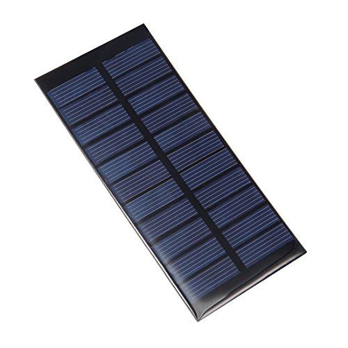 sourcing map 5,5V 120mA 0,65W Mini Solarzelle Platte Modul DIY Telefon Spielzeug Ladegerät DE de