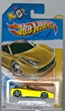 Hot Wheels 2012-025 New Models (Ferrari) 458 Spider YELLOW 1:64 scale SCAN and TRACK Card