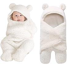 AIMEE7 Recién nacido bebé niño niña Swaddle abrigo Sleeping Wrap Blanket Fotografía Prop chaqueta