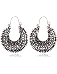 Tiaraz Chandbali Earrings for women traditional