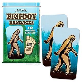 Bigfoot Bandages - 10 Extra Large Bandages by Accoutrements
