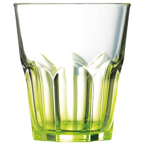 Luminarc Crazy Colors - Set de 6 vasos, forma baja, 30 cl, multicolor