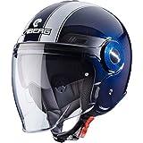 Caberg UPTOWN LEGEND Motorrad Jethelm Thermoplast - blau weiss