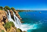 lunaprint Waterfall Duden at Antalya Turkey City Home Decor