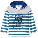 UFO Boys' T-Shirt (AW17-KF-BKT-1107 WHITE/BLUE (8-9 Yrs))