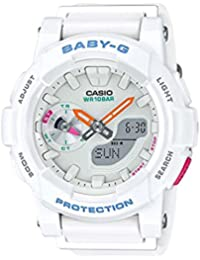 Casio Damen-Armbanduhr Baby-G Analog - Digital Quarz Resin BGA-185-7AER
