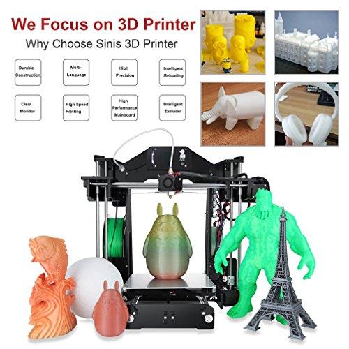 Ohholly Z1 3D Drucker Druckgröße Durable Hohe Genauigkeit 220x220x240mm - 5