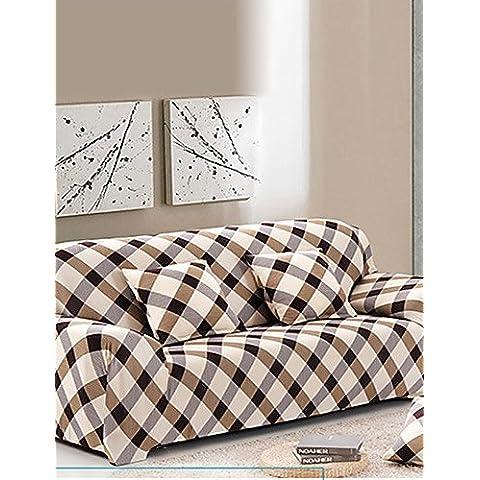 ZY/ stretto divano all-inclusive asciugamano fodera antiscivolo in tessuto copridivano elastico (fucsia / riso bianco / verde) , sofa cover-green , sofa cover-green