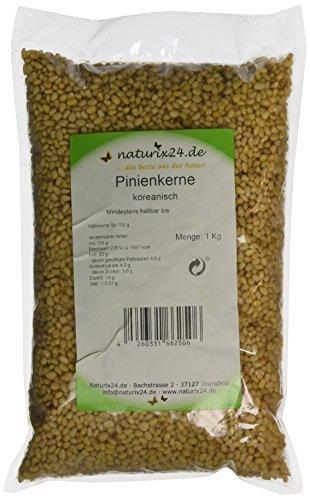 Naturix24 Pinienkerne koreanisch, 1er Pack (1 x 1 kg)