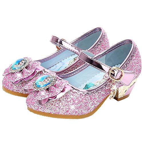 YOSICIL Disfraz Princesa Zapatos Frozen Elsa Zapatos