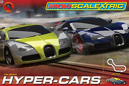 Micro-Scalextric-164-Scale-Hyper-Cars-Race-Set