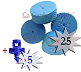 25 PACK BLUE - NEW SPOKE DESIGN - Net Po...