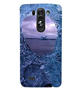 ColourCraft Amazing Water Effect Design Back Case Cover for LG G3 S