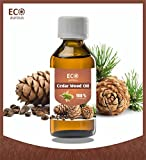 #6: Eco Aurous Cedarwood Oil 100% Pure & Natural Essential Oil | Cedarwood Essential Oil | Moth Killer | Cedarwood Oil For Hair | Cedarwood Oil For Sleep | Cedarwood Oil For Skin | Cedarwood Oil For Hair Growth | Organic Cedarwood Oil (100ml)