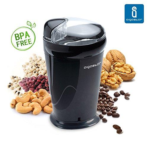 Aigostar Breath 30CFR - Molinillo compacto de café, especias, semillas....