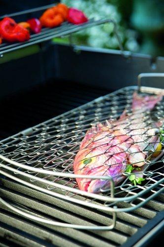 51GuynFY1IL - Weber 6471 Fisch- und Gemüsehalter , groß