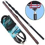 KEEPDRUM MPB03 Boompole 3m Tonangel + MC-008XJ 3m Mikrofonkabel XLR - 3,5mm Klinke