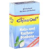 CHINA OEL Hals- u. Hustenbonbons o. Zucker, 40 g preisvergleich bei billige-tabletten.eu