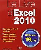 Le livre d'Excel 2010