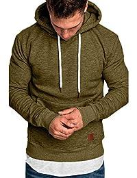 Kapuzenpulli Lilicat Herren Hoodie Sweatshirt Langarm Pullover Rundhal Herbst  Winter Casual Bluse Hoodie Sweatshirt Top Mantel 06cc3f42f4