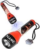 alles-meine.de GmbH Taschenlampe LED -  Star Wars - Kylon Ren / Stormtrooper  - Incl. Name - für..