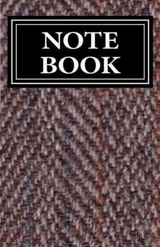 NOTEBOOK - Harris Tweed