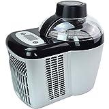 Selbstkühlende, Extrem leichte und Stromsparende Eismaschine GG-90W Frozen Yogurt Milchshake Maschine Flaschenkühler Gino Gelati -