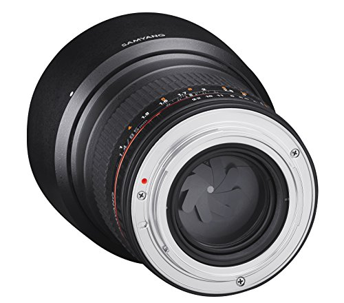 Samyang 85mm F1.4 Objektiv für Anschluss Nikon AE - 3