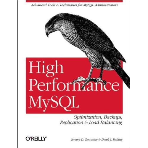 High Performance MySQL by Jeremy D. Zawodny (2004-04-18)