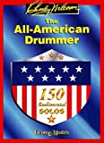 CARL FISCHER WILCOXON CHARLEY - ALL AMERICAN DRUMMER - 150 RUDIMENTAL SOLOS - BATTERIE Educational books Drum set