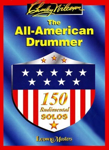 CARL FISCHER WILCOXON CHARLEY - ALL AMERICAN DRUMMER - 150 RUDIMENTAL SOLOS - BATTERIE Educational books Drum set
