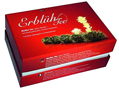 Erblüh-Tee Nachfüll-Dose, 6 Teekugeln