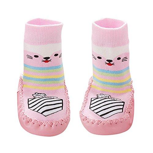 Huhu833 Baby Socken, Cartoon Kinder Kleinkind Baby Anti-Rutsch-Socke Schuhe Stiefel Slipper Socken Boden Socken
