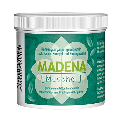 MADENA MUSCHEL – Grünlippmuschelpulver Kapseln | 3000mg | 60 Kapseln