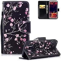HMTECH iPhone XR Hülle Leder Elegant Retro Rosa Blumen Flip Bookstyle Wallet Brieftasche Standfunktion Karten... preisvergleich bei billige-tabletten.eu