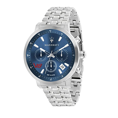 MASERATI Orologio Cronografo Quarzo Uomo con Cinturino in Acciaio Inox R8873134002
