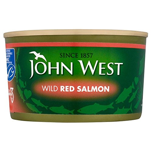 John west rosso salmone selvaggio (213g) (confezione da 6)