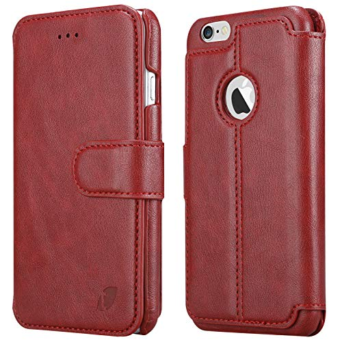 Techstudio Soft Leather Flip Cover for Apple iPhone 6   6s