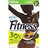 Nestlé Fitness Chocolate Negro Cereales para Desayuno - 600 g